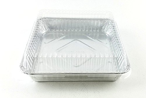 Handi Foil Square Aluminum Foil Cake Pan W Dome Lid