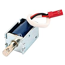 uxcell® HTO-0630L6V12 DC 6V 0.5A Pull Type Open Frame Actuator Electric Solenoid Electromagnet