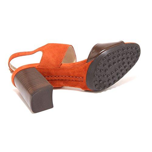 arancio TODS sandalo donna Di women shoes Arancione Testa 15794 scarpe Moro TZwCq4f