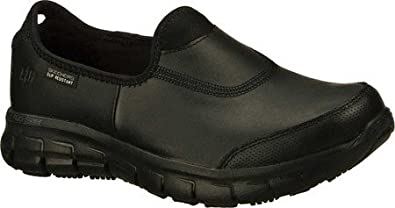 fair price big discount of 2019 official shop Skechers Women's Work Relaxed Fit Sure Track,Black,US 12 M