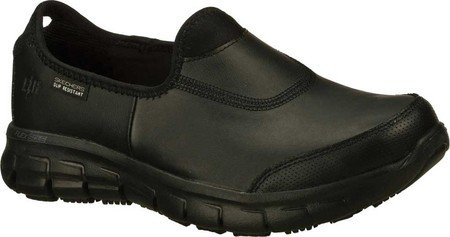 Image of the Skechers Women's Work Relaxed Fit Sure Track,Black,US 12 M