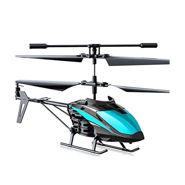 Qin-Helicopter-with-Remoter-Control-35CH-Rc-Helicopter-Altitude-Hold-Helicopter-24GHz-and-LED-Light-for-Crash-Resistance-Helicopter-RC-Drone-Toy-Gift-Color-Black