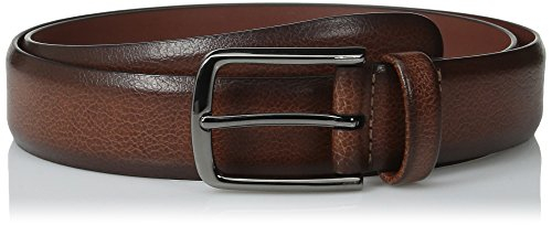 Perry Ellis Men's Portfolio Belt, Park Avenue Brown, 32
