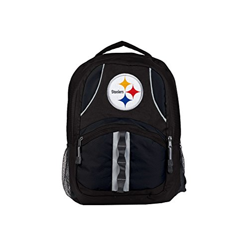 Officially Licensed NFL Pittsburgh Steelers Captain Backpack