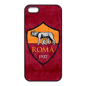 iPhone 4 4s Cell Phone Case Black As Roma Logo FDV Hard Cell Phone Case Generic