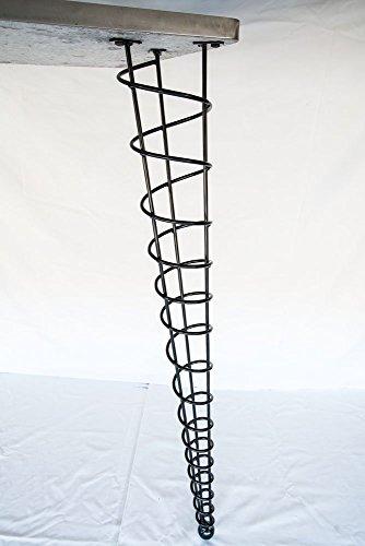 Bar Height Table Legs, Modern, 42-1/2-inch Height, Single Leg