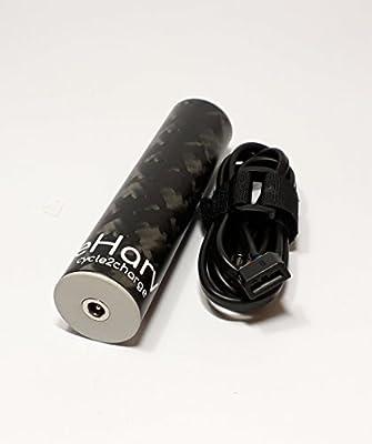 eharv E1 Cargador - Cargador USB para bicicleta para dinamo ...