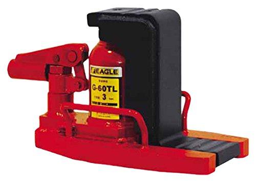 イーグル 低床レバー回転安全弁付爪つきジャッキ 爪能力3t 爪ロングタイプ G60TL B003O2HUJA