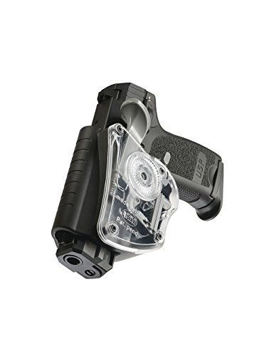 Fobus Concealed carry tactical Thumb Release Safety Transparent Paddle Holster for Heckler & Koch H&K USP Compact