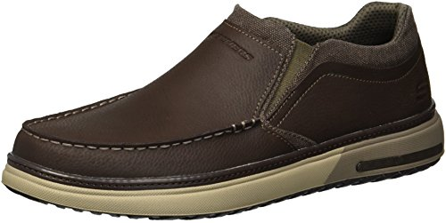 Skechers Men's Folten-Rison Oxford,Fudge,9 M US - Shoes Fudge