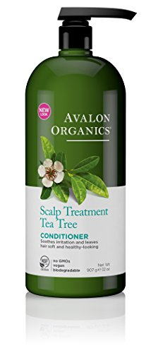 Avalon Organics Shampoo (Avalon Organics Conditioner, Scalp Treatment Tea Tree, 32 Ounce)