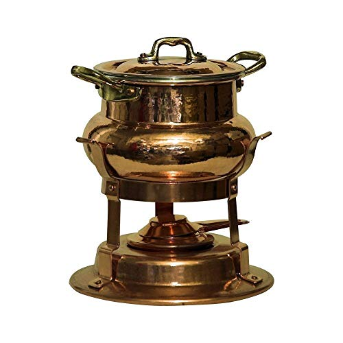 Bottega del Rame - Copper Table Top Fondue Cooker Set