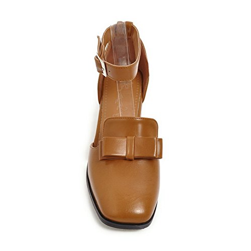 Uretano Quadrata Sandali Leggera Chiusa Womens Sandals In Punta Asl04506 Balamasa A Marrone 4axqZzgwnX