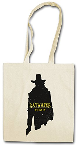 "RATWATER WHISKEY ""J�?HIPSTER BAG �?Whisky Jesse Comic Preacher Cassidy Custer Texas TV Series TV Garth Cassidy"