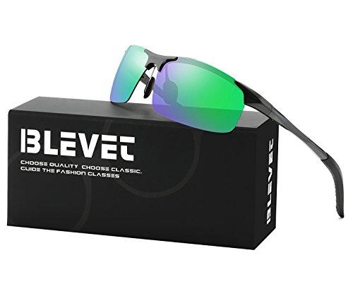 BLEVET Men & Women Outdoor Polarized Sunglasses UV400 Best For Driving Fishing Golf Cycling - Female Sunglasses Best