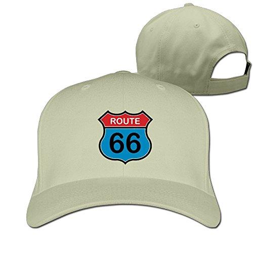 OCPEK Arizona Road Route 66 Caps Flat-Along Plain Adjustable Visor Hats Strapback - Quilt Road Oklahoma To