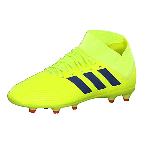 solar Red Adidas Yellow Blue Solar Nemeziz active 3 Red De Fútbol Para J football Zapatillas Niños Fg Amarillo 18 RPqnHwRa