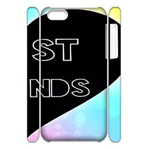 Customized 3D iPhone 5C Case, Friends quote Cheap Phone Case