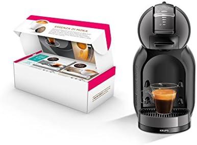 Nescafé Dolce Gusto Mini Me - Máquina para café espresso y otras bebidas, automática (set especial del día de la madre 2017) antracita