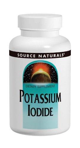 Source Naturals 32.5mg iodure de potassium, 120 Comprimés