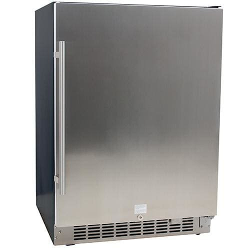 EdgeStar CBR1501SLD 5.49 Cu. Ft 142 Can Built-in Stainless Steel Beverage Cooler (Freestanding Mid Range)