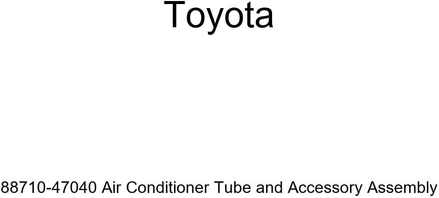 Toyota 88710-47040 Air Conditioner Tube and Accessory Assembly
