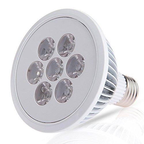 CroLED® E27 7W LED Pflanzenlampe , 7LEDs Wachstumslampe Pflanzenleuchte , Rot Blau Licht , AC 110-240V Pflanzenlicht Pflanzen Lampe