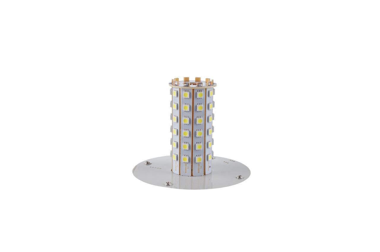 KFZ Warnleuchte NEU Blinkleuchte 60LED 12//24V IP56 Stra/ßenverkehr Zulassung LED Rundumleuchte Orange mit Magnetfu/ß