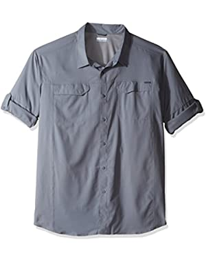 Men's Tall Silver Ridge Lite Long Sleeve Shirt, 4X/Tall, Grey Ash