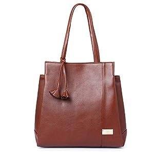 Speed X Fashion Women's Handbag (NSB-010-Tan_Tan)