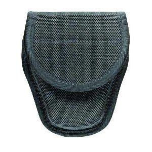 Hiatts Ul 1 Cuff Case - Bianchi AccuMold 7318 Ultimate Hinged Handcuff Case - Hidden Snap