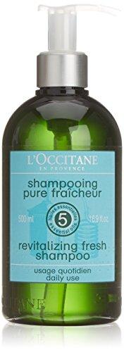 L'Occitane Aromachologie Revitalizing Fresh Shampoo unisex, Shampoo ohne Silikone, 1er Pack (1 x 500 ml)