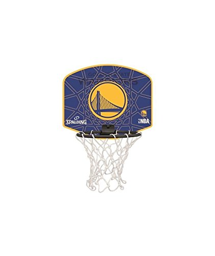 Spalding Mini Basketball Basket NBA Golden State Warriors  Amazon.co.uk   Shoes   Bags 910cc0075