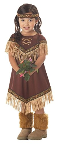 [Fancy Indian Princess Pocahontas Toddler Costume] (Red Indian Princess Costume)