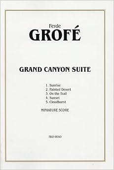グローフェ: グランド・キャニオン組曲/アルフレッド社/大型スコア