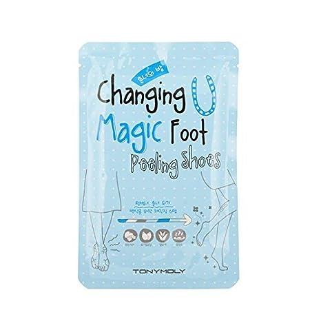 Tony Moly Cambio del pie mágico - Peeling Zapatos - Máscaras especiales para los pies: Amazon.es: Belleza