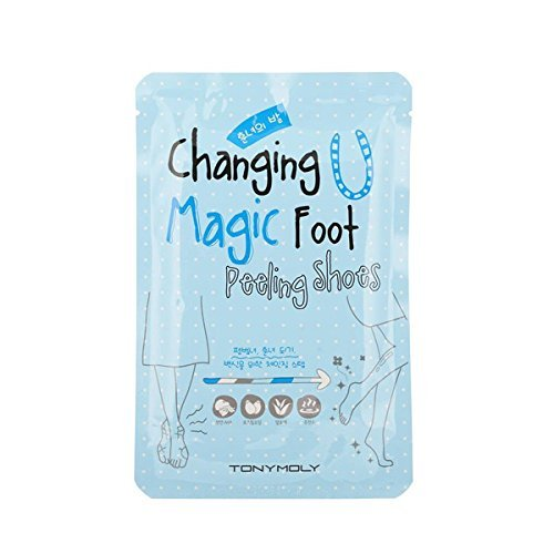 TONYMOLY changing u magic foot peeling shoes, 17ml