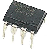 Amazon.com: 10 piezas Tl071 TL071CP DIP-8 bajo nivel de ...