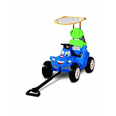 Little Tikes Deluxe 2-in-1 Cozy Roadster (Renewed): Toys & Games
