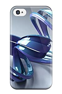 Eric S Reed Fashion Protective Shapes Abstract Case Cover For Iphone 4/4s
