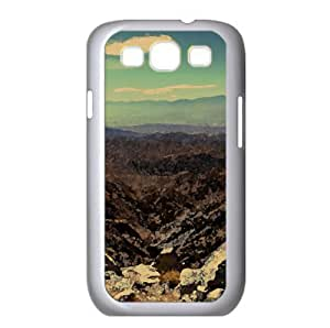 Bare Mountains Watercolor style Cover Samsung Galaxy S3 I9300 Case (Mountains Watercolor style Cover Samsung Galaxy S3 I9300 Case)