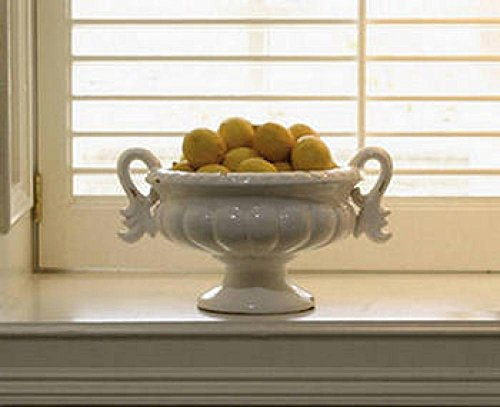 Tuscany Collection Low Bowl Urn with (Urn Home Decor)