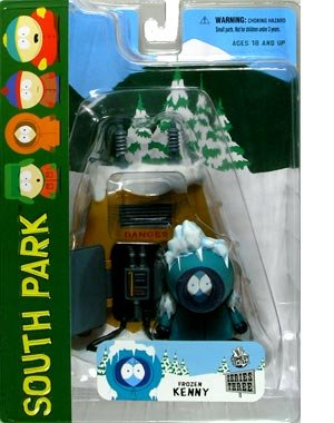 South Park Series 3 Frozen Kenny Action Figure