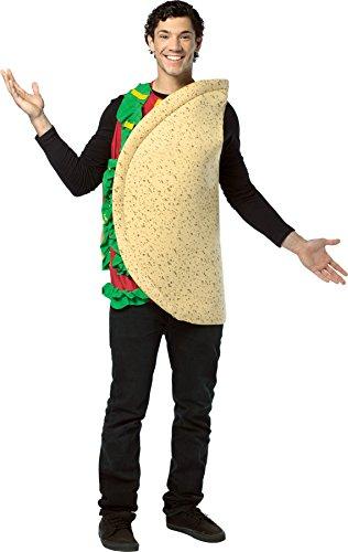 Rasta Imposta Lightweight Taco Costume, Multi-Colored, One Size for $<!--$16.79-->