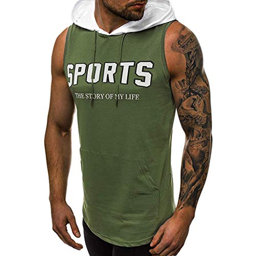 - Giulot Men's Sports Hoodie Shirt, Big & Tall Dri-Fit Fitness Tee, Casual Retro Active Raglan Jersey Polo Henley T Shirt Army Green