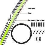 CTRICALVER-Cavi-per-cambio-bici-e-kit-di-alloggiamento-set-di-pezzi-di-ricambio-per-cavi-per-cambio-bicicletta-e-mountain-bike-nero