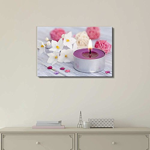 Calm Candle Light Wall Decor