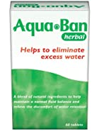 Aqua Ban Herbal Diuretic Tablets 60