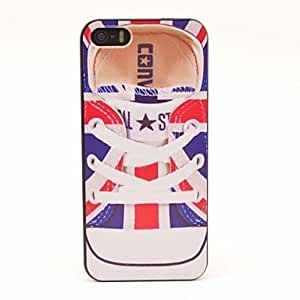 TY-Flag UK Shoes Patrón duro para el iPhone 5/5S