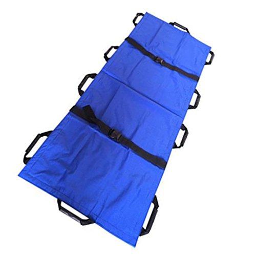 Carejoy Oxford Leather Folding Soft Stretcher / Emergency Rescue Soft Stretcher For Hospital,Clinic, Home,Sports venues,Ambulance by Carejoy (Image #1)